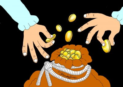 Mošnjiček zlatnikov/ A pouch of gold coins
